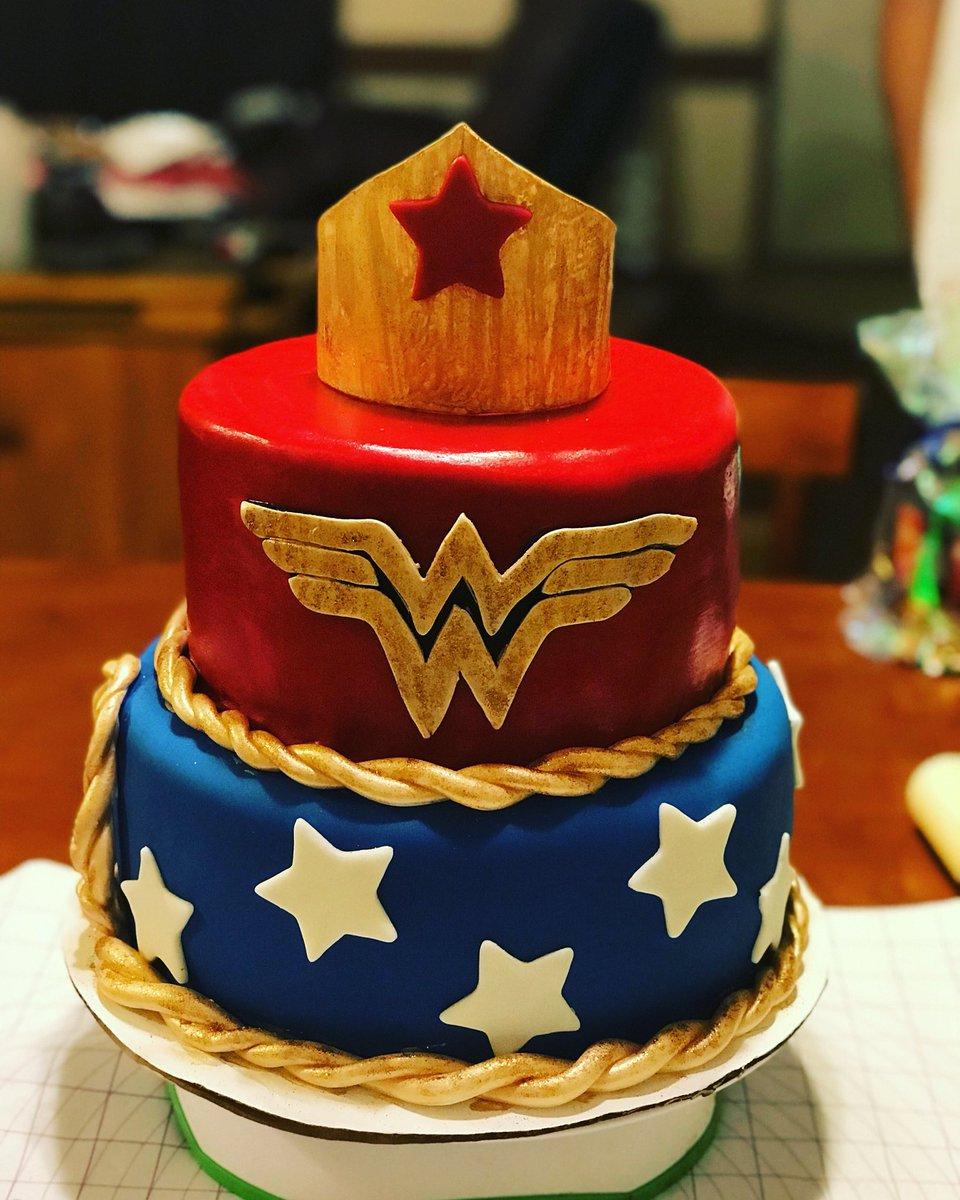 Cupcakes N More On Twitter Birthday Cake Wonderwoman Girlpower