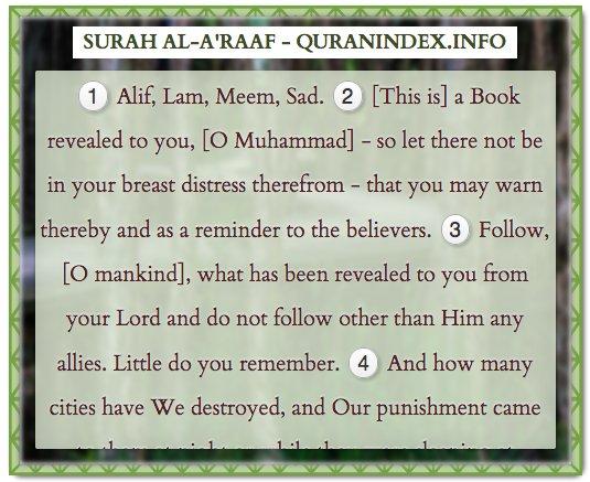 Quranindex info on Twitter: