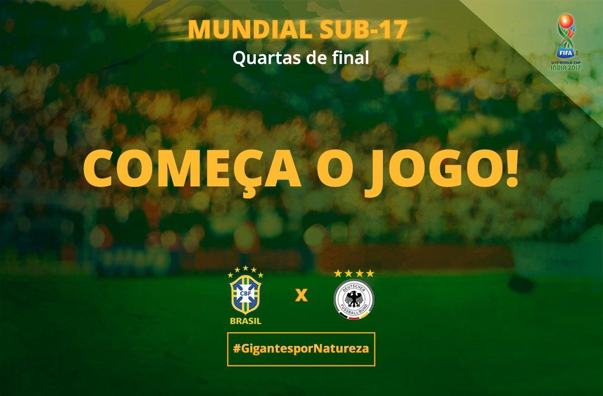 ROLA A BOLA! #Brasil x Alemanha disputam...
