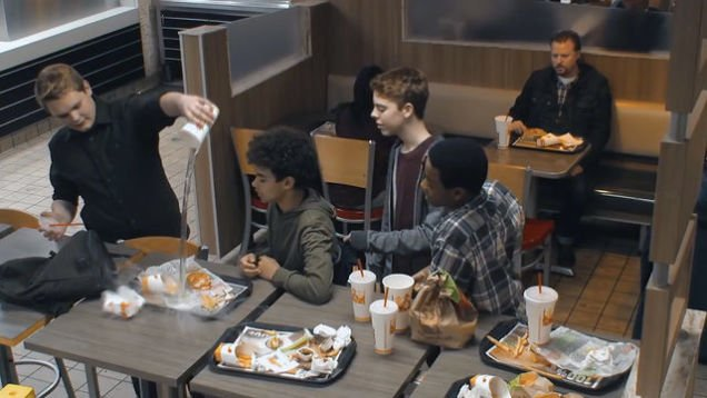 In honor of #NationalBullyingPreventionMonth, @BurgerKing releases an ad that may restore your faith in humanity: https://t.co/RvpyCV7ASi
