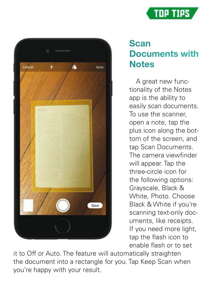New #iphone features you may not know about:   1) Built-in #QRreader 2) Scanning feature in #Notes.   #ios #edtech #edtechchat<br>http://pic.twitter.com/TVGIb0cG7E