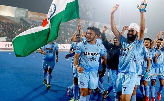 Congratulations @TheIndianHockey on winning #AsiaCup! Three cheers for three years 👊🏼 #AsiaCup2017