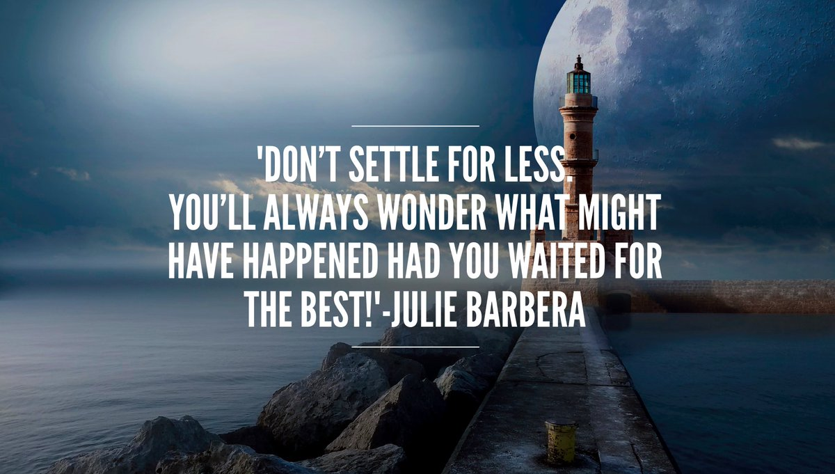 &#39;#BeExpectant with #patience #DontSettleForLess You&#39;ll wonder what might have happened. #WaitForTheBest !#ThinkBIGSundayWithMarsha #vision<br>http://pic.twitter.com/ZDF6vmWLey