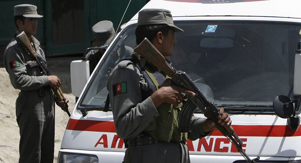 At least 2 killed, 8 injured in a hotel explosion in #Afghanistan - reports https://t.co/8oWMTZ4kNI