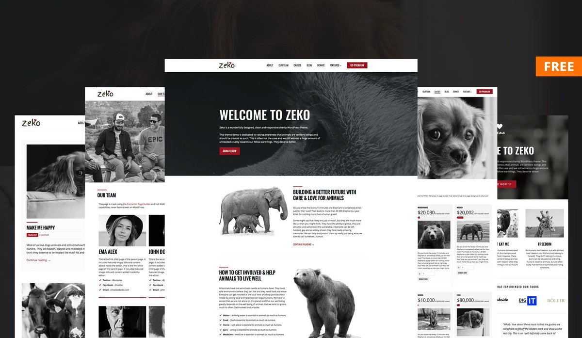 New &amp; Free Non-Profit WordPress Theme -  https:// buff.ly/2gAuQBV  &nbsp;   #nonprofit #charity #NGO #donations #free #WordPress #freebies #Donations<br>http://pic.twitter.com/KgiSTmaWC3