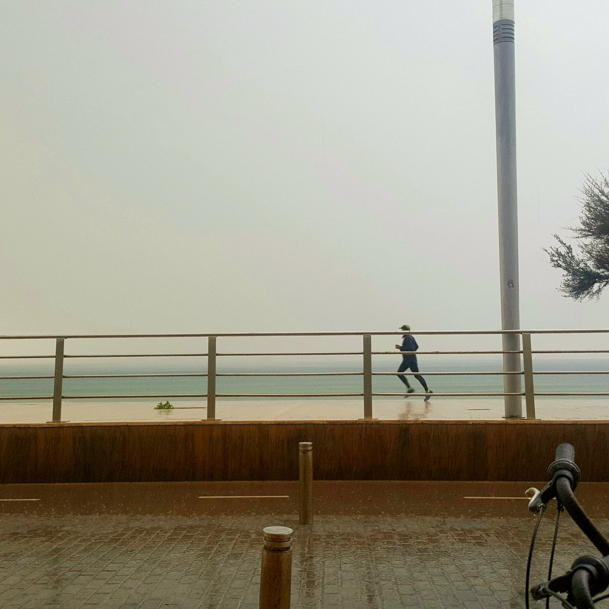 Its raining men... #rain #mallorca #portixol <br>http://pic.twitter.com/T9Jz7YDDTd