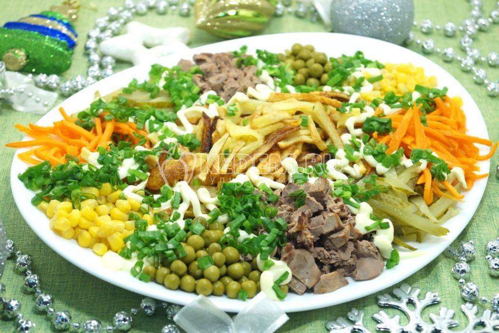 Салат калейдоскоп рецепты с фото простые и вкусные