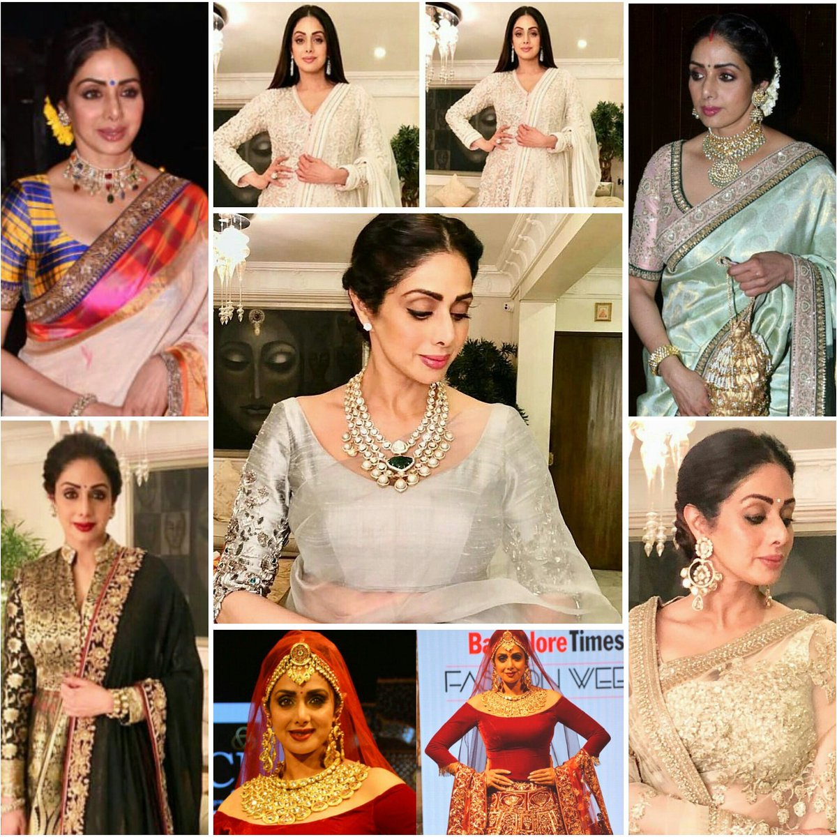 Latest Appearances of Our Goddess @SrideviBKapoor  #Awesome #Looks #sridevi #queen<br>http://pic.twitter.com/FBnC8YFgzA