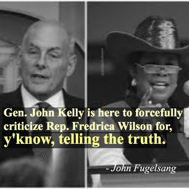 Lies and the lying liar who tells them...  #unhinged #kellylied #tcot #GOP #ManBaby #ThinSkinned #MAGA ? @JohnFugelsang<br>http://pic.twitter.com/KUf1WDGk83