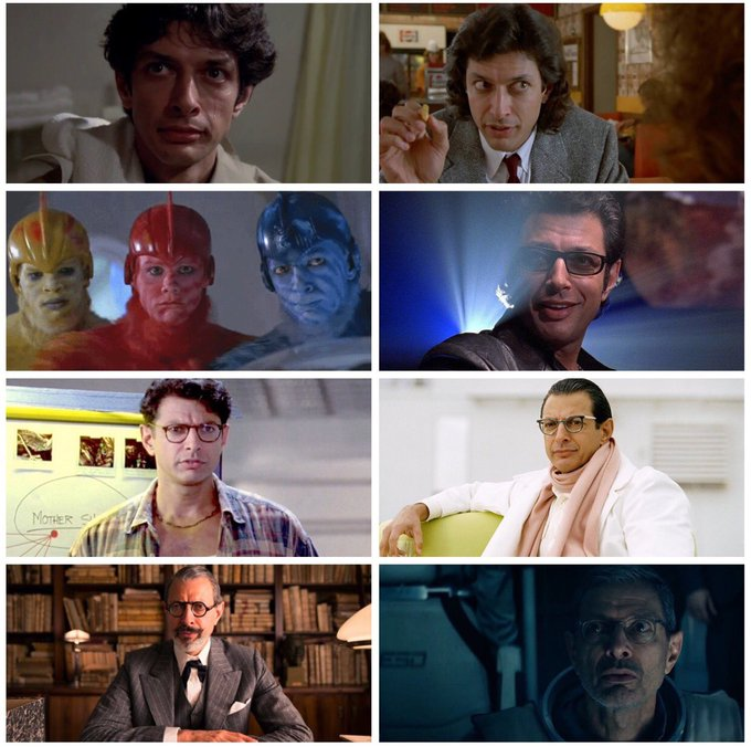 Happy 65th birthday, Jeff Goldblum! Which of his performances is your favourite?