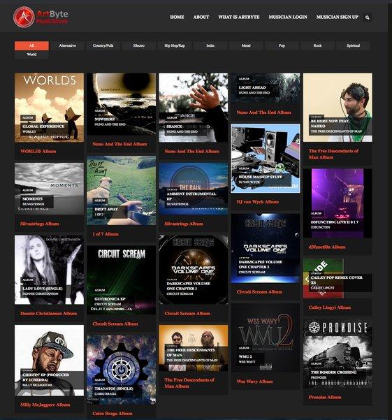 On  http:// music.artbyte.me  &nbsp;   #Musicians keep 100% of sales, no fees, free to list #MusicPress #IndieMusic #musicnews #music #NewMusic<br>http://pic.twitter.com/S5DQJgjYuS