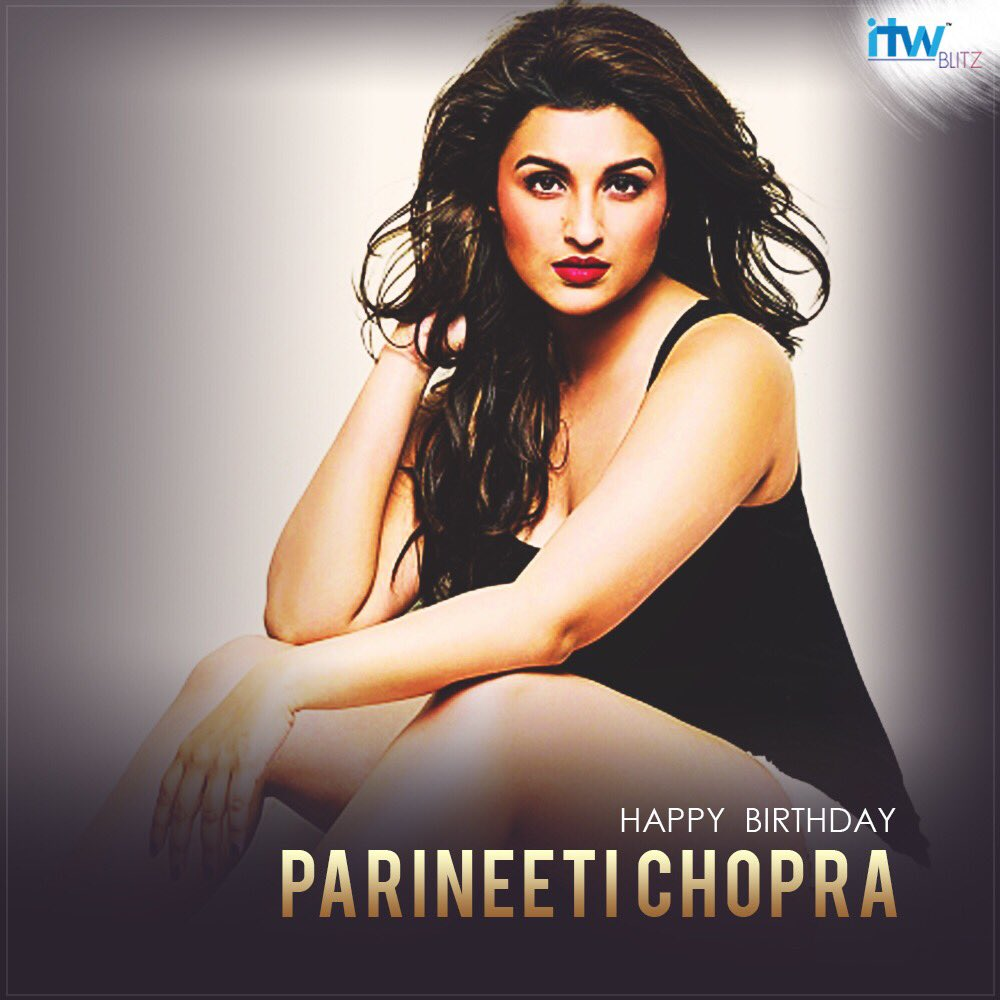 #HappyBirthday to the gorgeous and beautiful Bollywood actress @ParineetiChopra . #hbd #parineetichopra<br>http://pic.twitter.com/IIllzg18V6