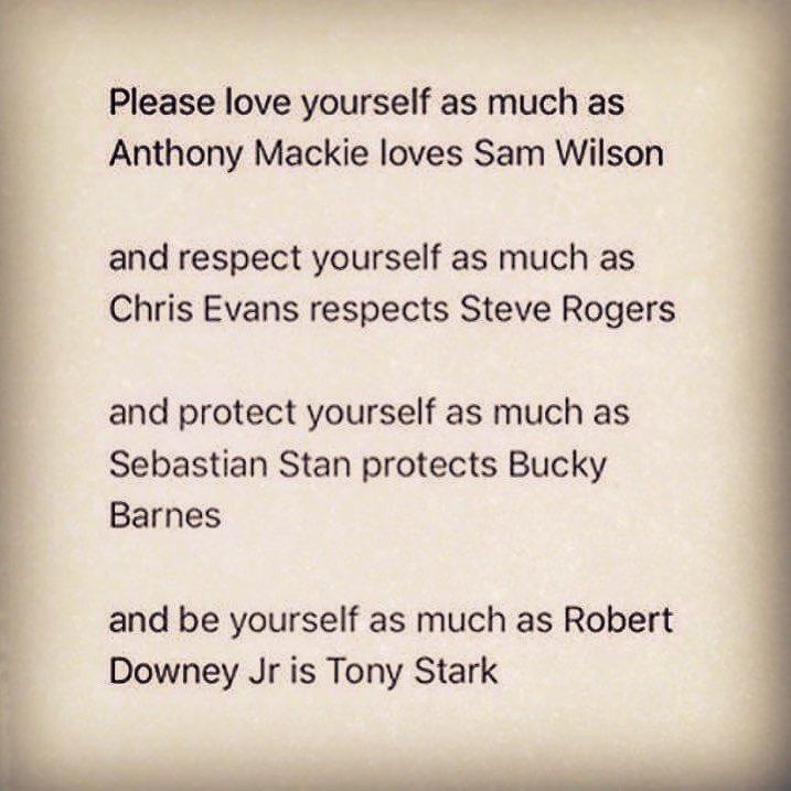 From my inner @marvel to yours  @AnthonyMackie @ChrisEvans @RobertDowneyJr #sebastianstan <br>http://pic.twitter.com/htlmRwVegx