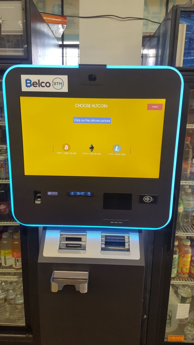 How To Buy Bitcoin Through Atm Machine - Earn Bitcoin With ...