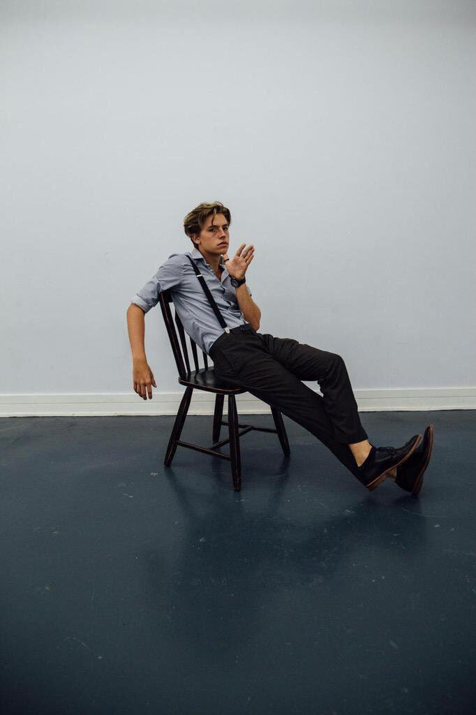 : #TBT photoshoot of Cole Sprouse by Haley Jensen <br>http://pic.twitter.com/OegJ7u0KJD