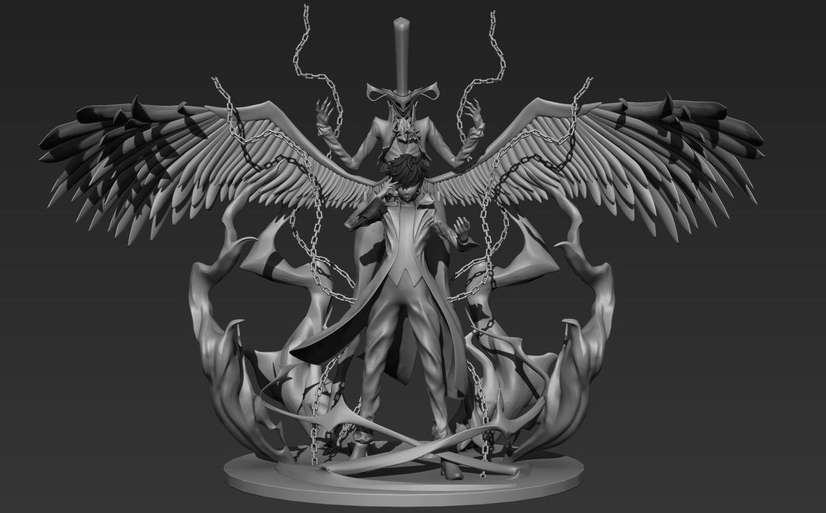 【w.i.p.】 Wake up, get up, get out there #ペルソナ5 #Persona5 #wf2018w #zbrush <br>http://pic.twitter.com/dwTogl9mLK