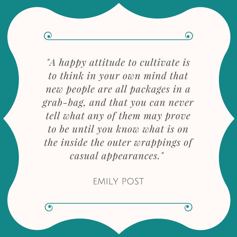 Emily Post Institute on Twitter: \