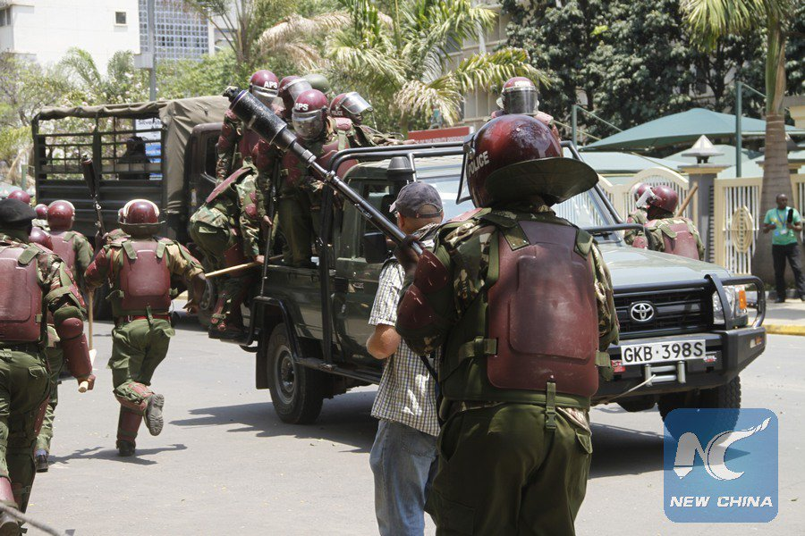 Kenyan President Uhuru Kenyatta has vowed to beef up security across the country to ensure a peaceful election https://t.co/WNi2mtmZmo