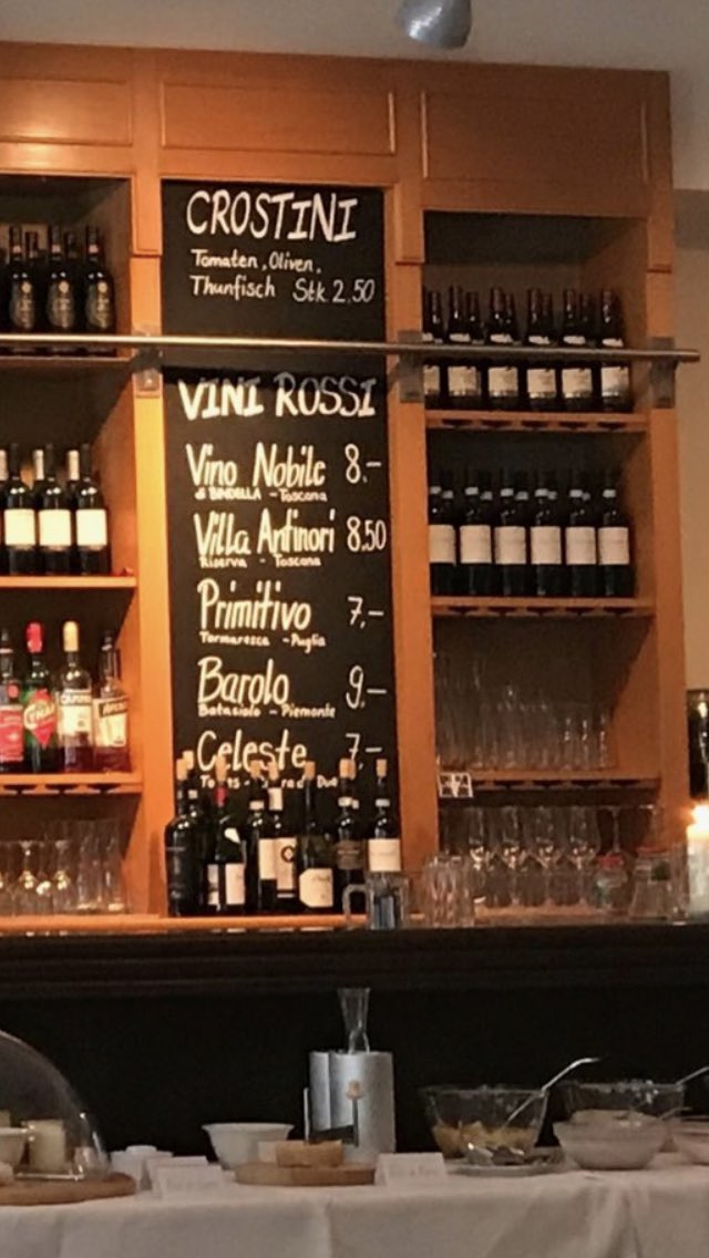 Today I want to drink just one glass of red wine, which one would you suggest me ? #Latini #Basel <br>http://pic.twitter.com/jyLvKlzH0s