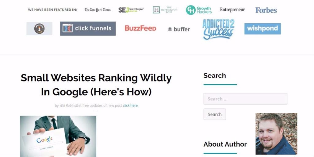 Ranking Small Websites In Google (Hint: Use Guest Posting) contenthow #seo #content  https:// buff.ly/2l6xyAu  &nbsp;  <br>http://pic.twitter.com/8XATr1kpPM