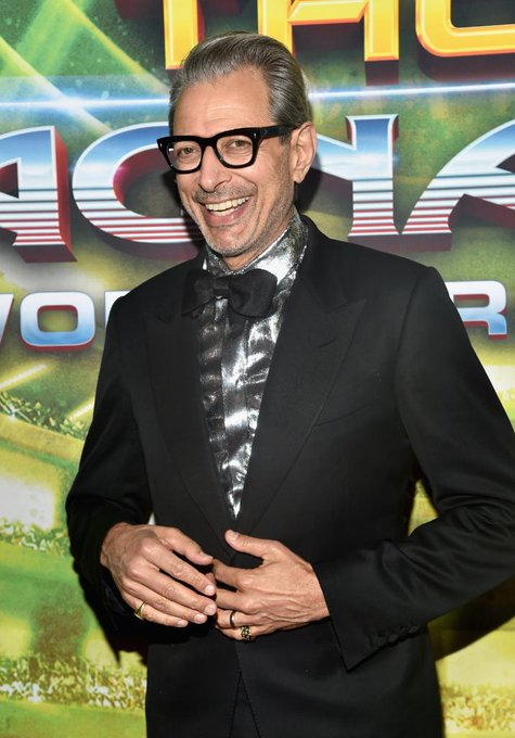 Happy Birthday to the one and only Jeff Goldblum!
