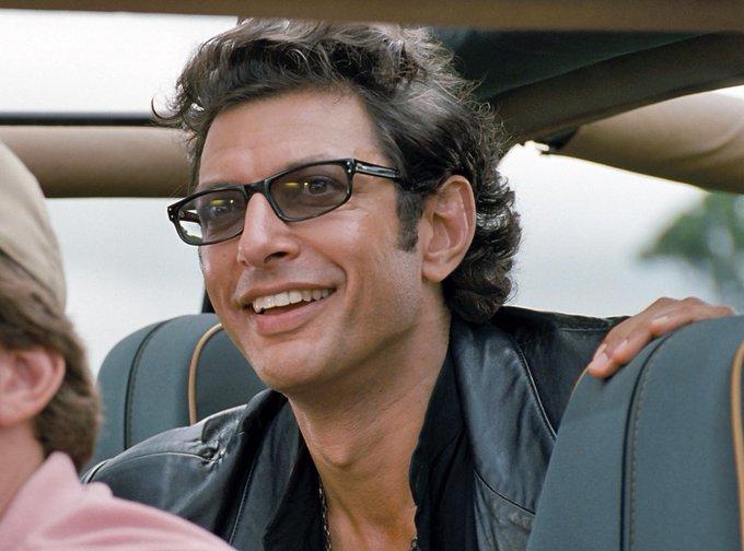 I would like to wish Jeff Goldblum a.k.a. Ian Malcolm a Happy birthday.
