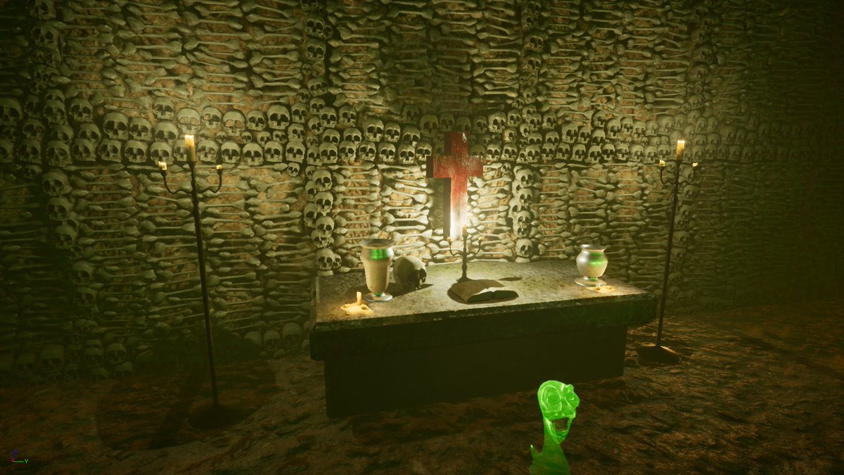 What do you think is going on here in Level 2 of Death Witch: Bloodline?  #indiedev #indiegame #ue4 #UnrealEngine #gamedev #gameart #horror<br>http://pic.twitter.com/faRjrd094N