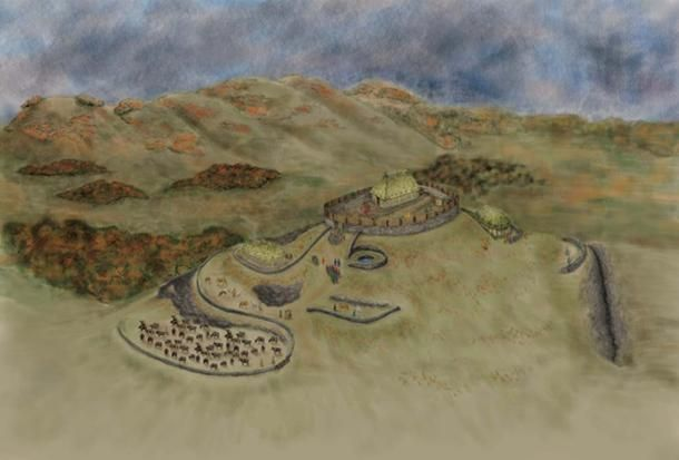 Burnt Hill Fort in Dark Ages #Scotland Was Likely the Stronghold of the Mysterious Rheged Kingdom -  https:// buff.ly/2xUjew7  &nbsp;  <br>http://pic.twitter.com/eBJOS7r9Ts