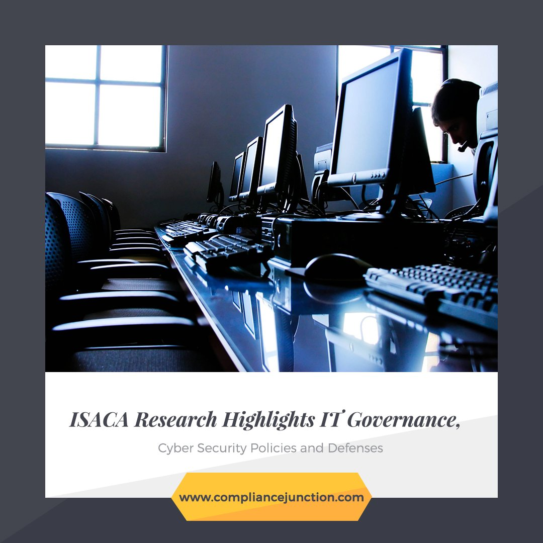 #ISACA Research Highlights IT Governance, #CyberSecurity Policies and Defenses.   http:// bit.ly/2xf11tC  &nbsp;   #privacy #dataprivacy #security<br>http://pic.twitter.com/yVRdBK89UJ