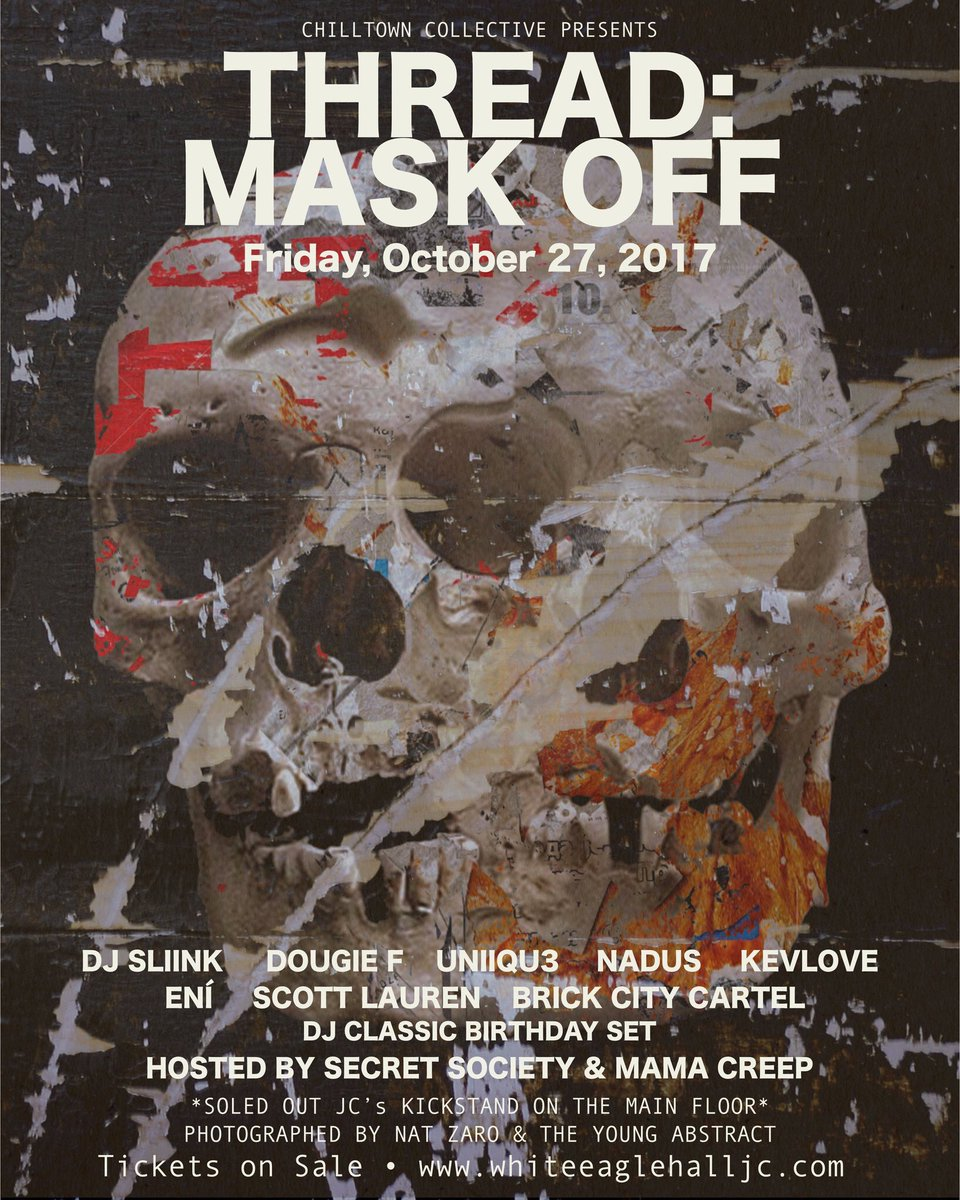 Situation going on in #Jersey on 10/27/17 ! I got some TRICKS and TREATS for y&#39;all! GRAB ya tix asap   http:// smarturl.it/MaskOffTickets  &nbsp;    #THREAD<br>http://pic.twitter.com/LG2DFvvrYR