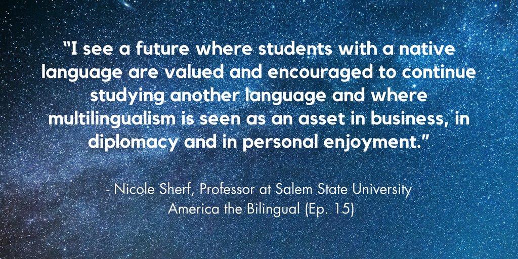 Let&#39;s make a #multilingual future possible! #languagematters<br>http://pic.twitter.com/BgAPCkn6fk