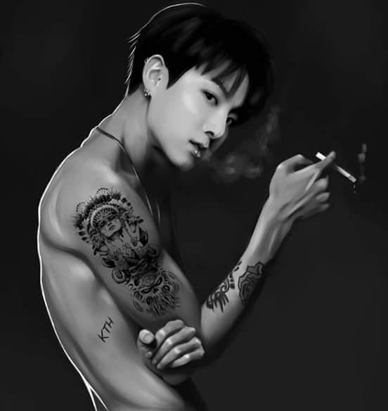 Taekook Tattoo: Jungkook [An Appreciation Thread]