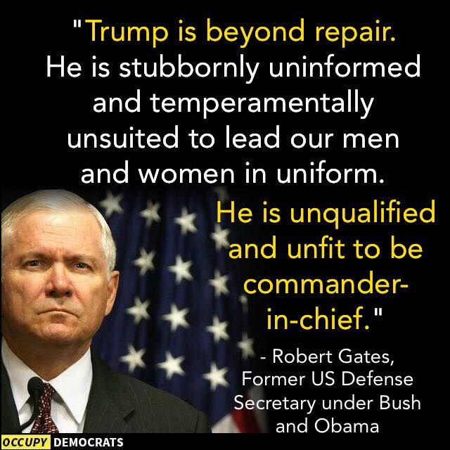 Trump is unqualified and unfit to be President  #SundayMorning #TheResistance #MAGA #Trump #FoxNews #Resist #ImpeachTrump<br>http://pic.twitter.com/jNwkSQyJ7X