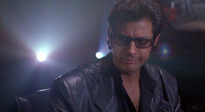 New happy birthday shot What movie is it? 5 min to answer! (5 points) [Jeff Goldblum, 65]