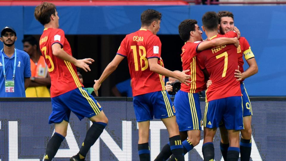 #FIFAU17WC | Spain outclass Iran 3-1, to face Mali in semifinals  https://t.co/lqA3TM5l7Q