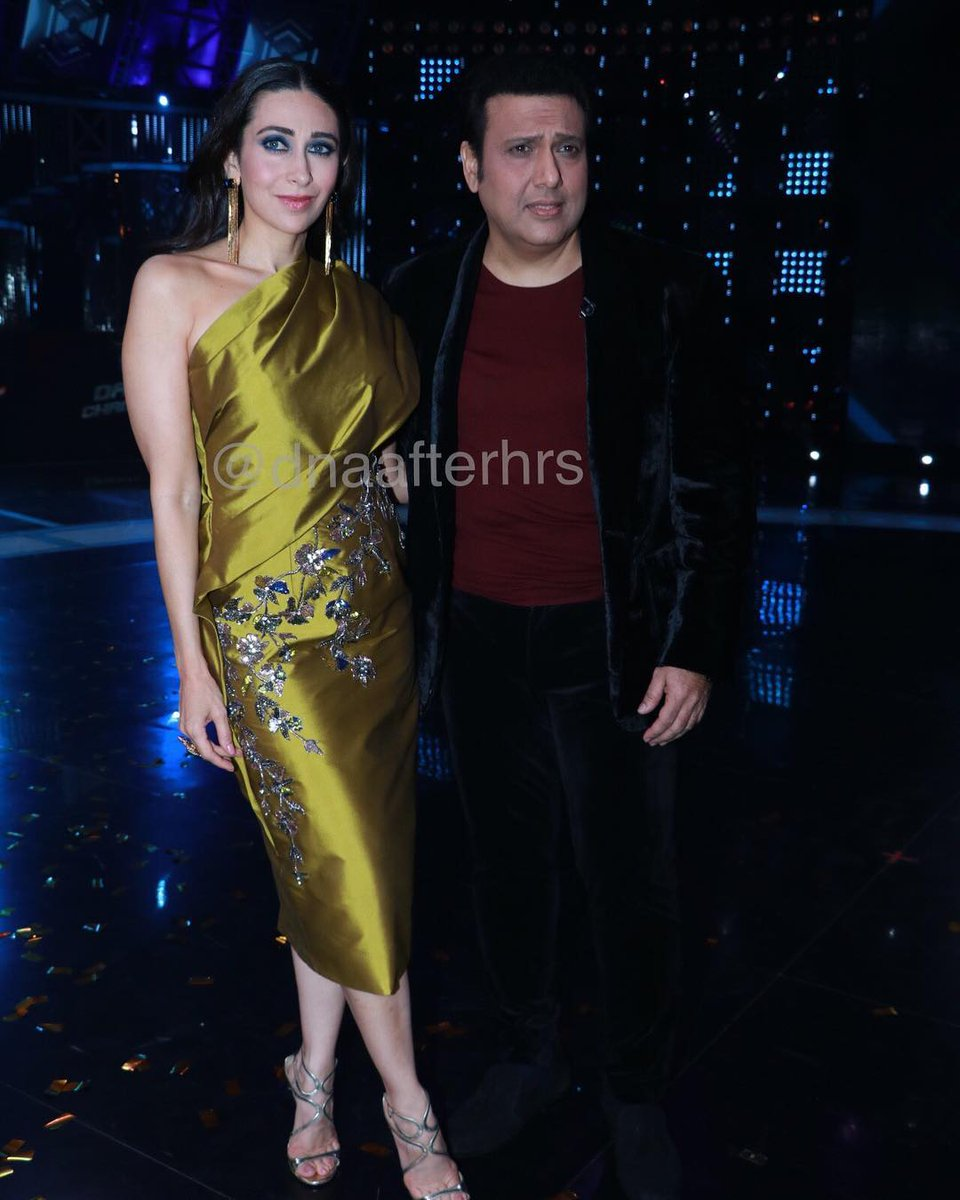 #Govinda @govindaahuja21 #karismakapoor #bollywood #Instagram  90s hit Jodi come together for a tv show What Is Mobile Number <br>http://pic.twitter.com/w3ieYQ28jL
