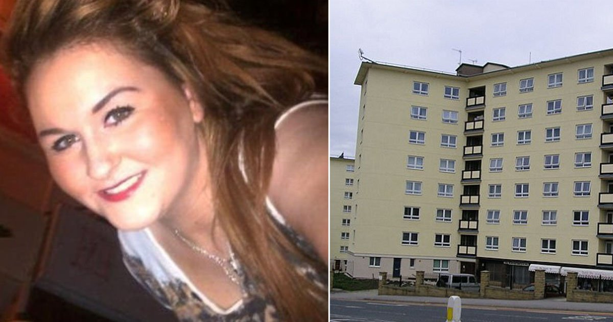 Pictured: Woman, 23, arrested after a naked baby boy plunged to his death from sixth floor flat https://t.co/NWx8pGRGSv