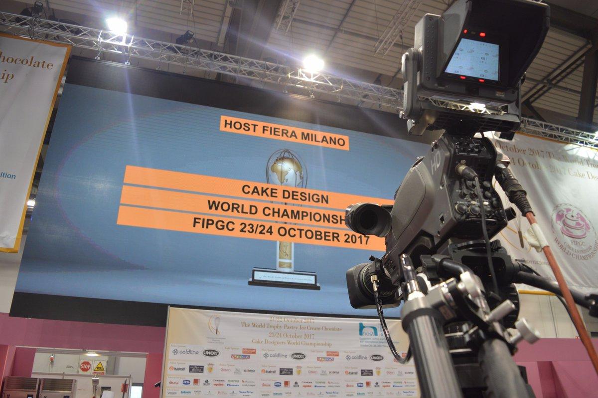 #CakeDesign World Championship: #23ottobre e #24ottobre a #Host2017. #staytuned @HostMilano<br>http://pic.twitter.com/NNszDmXpRw