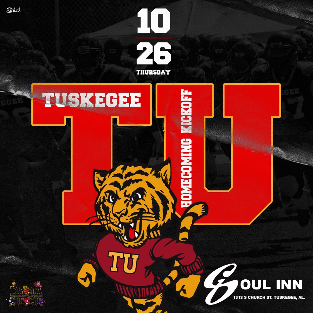 ITS FINALLY HERE HOMECOMING 2K17 #TUHC17 THE ONLY PLACE TO BE #SOULINN ITS GOING DOWN #TU21 #SKEGEE21 #AU #ASU #MYASU #TU #SHARE #RETWEET<br>http://pic.twitter.com/pjJHD2gSmN