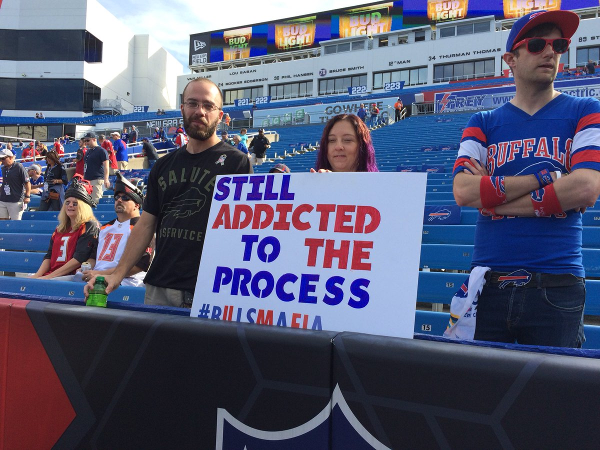 Looks like #Bills fans have been listening to Sean McDermott #process <br>http://pic.twitter.com/dO39blfn6C