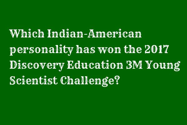Which Indian-American personality ... - #Contamination #Detector #Detects #Device #Gitanjali #Prototype #Quality  https:// goo.gl/tSGupJ  &nbsp;  <br>http://pic.twitter.com/DPEmC5kXeD