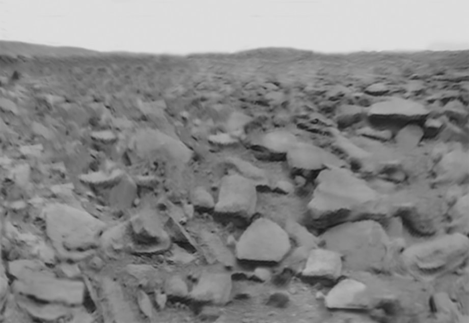#Today in 1975 #Venera9 landed on Venus &amp; returned the 1st images from a planetary surface  http:// bit.ly/2dwGpat  &nbsp;   (processed by @tsplanets)<br>http://pic.twitter.com/HsZOLj7hp3