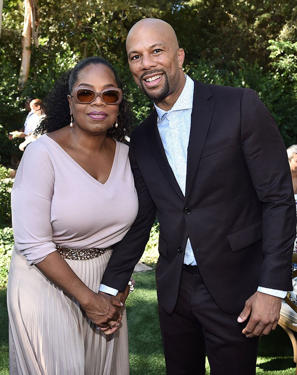 Last #SundayMorning with Queen @Oprah at her home to celebrate the rel...