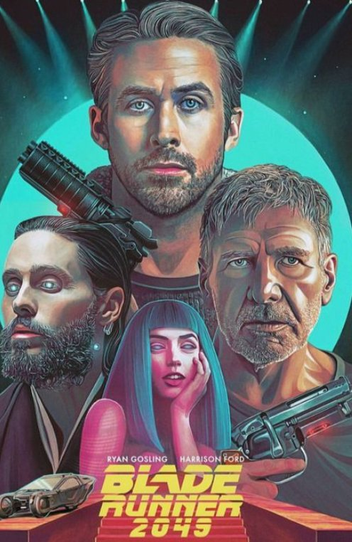 Sometimes fan art is as good/if not better than the originals  #BladeRunner <br>http://pic.twitter.com/T6wYnUBd0Q