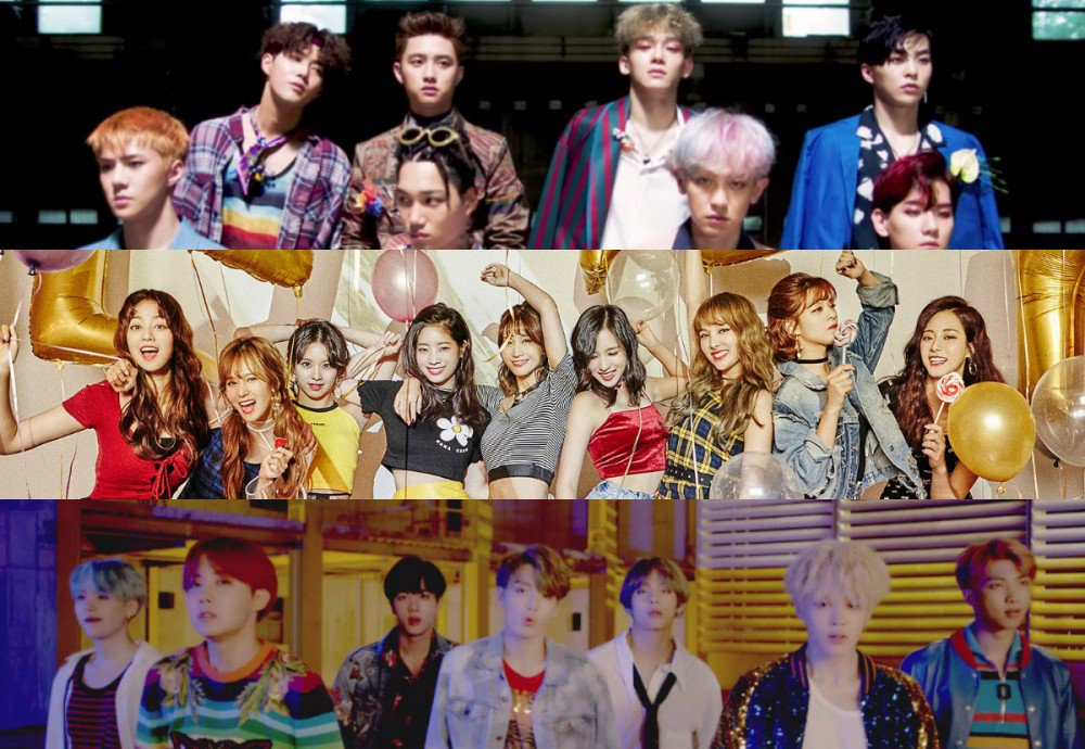 #TWICE, #EXO, and #BTS to perform at the '2018 Pyeongchang Winter Olym...