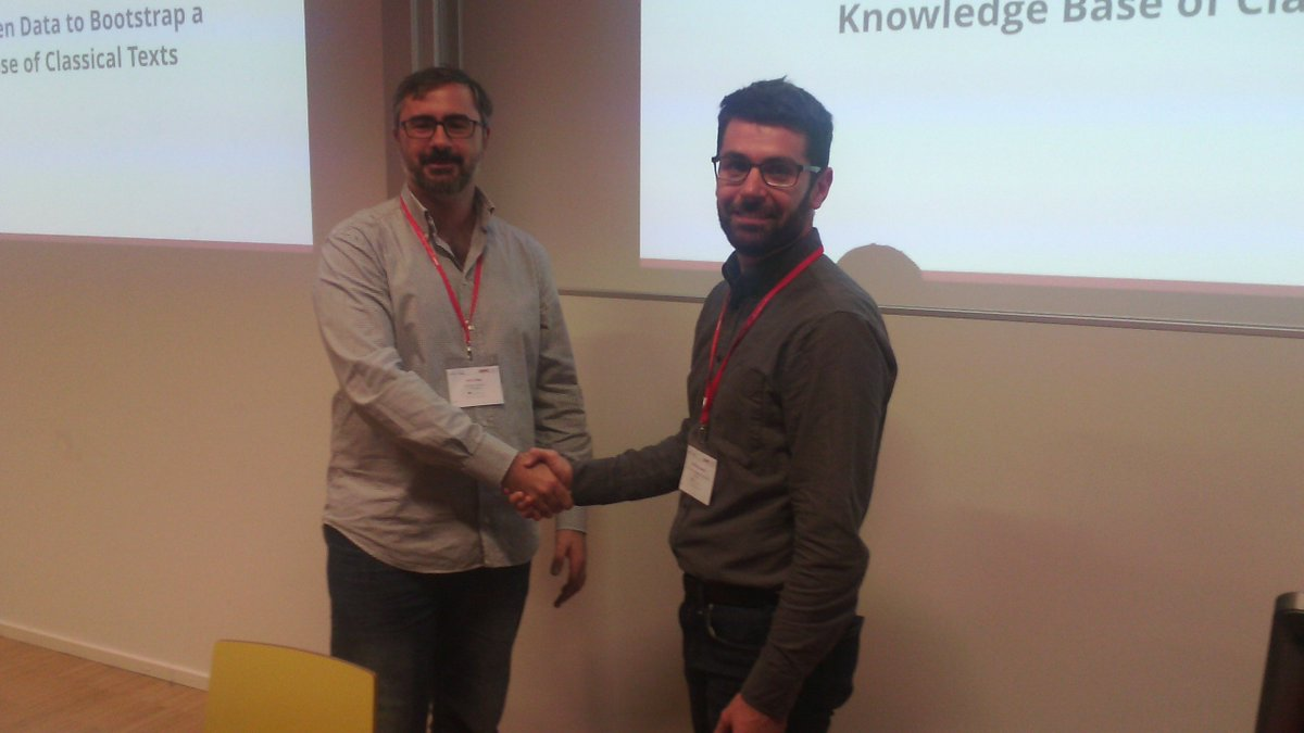 @whiseworkshop has a new best paper in 2017: Congrats to @mr56k and @lambdaman!! #iswc2017 #digitalhumanities <br>http://pic.twitter.com/PY7f7XD2Um