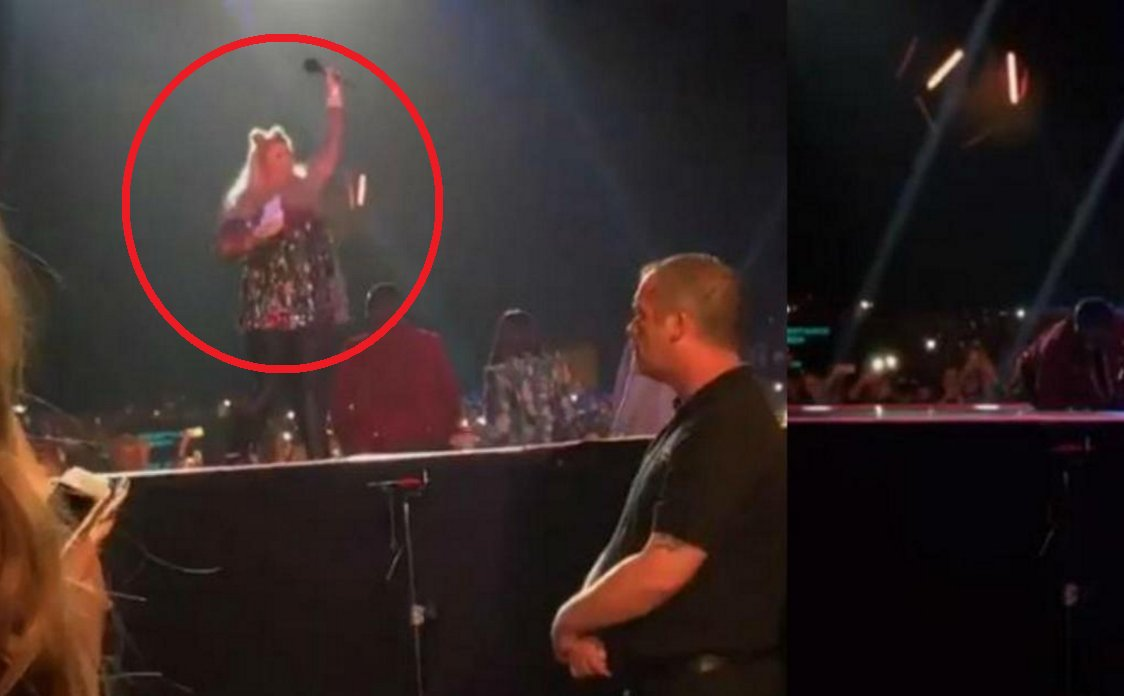 Gemma Collins falls down giant hole on stage at Radio 1 Teen Awards https://t.co/2kqz0F2AKA