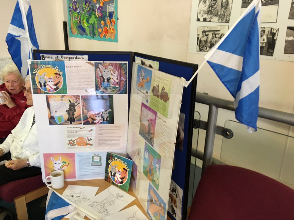 Great day at the 1st Imagine #Dundee event in Douglas today with .@YesBikers, pipe band, music &amp; Wee Bunny Book illustrated by @Defiaye <br>http://pic.twitter.com/nhcUGTqEsW