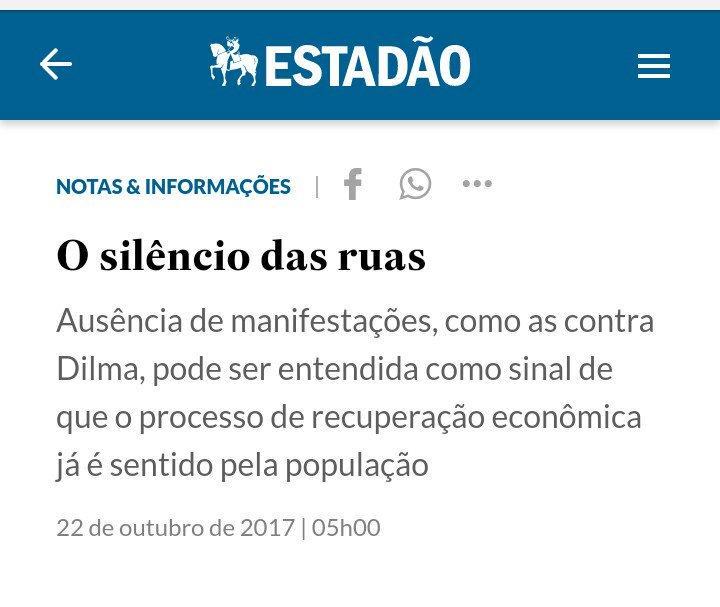 Isto é um jornal brasileiro rindo da população. https://t.co/A6Cxw7z0o...