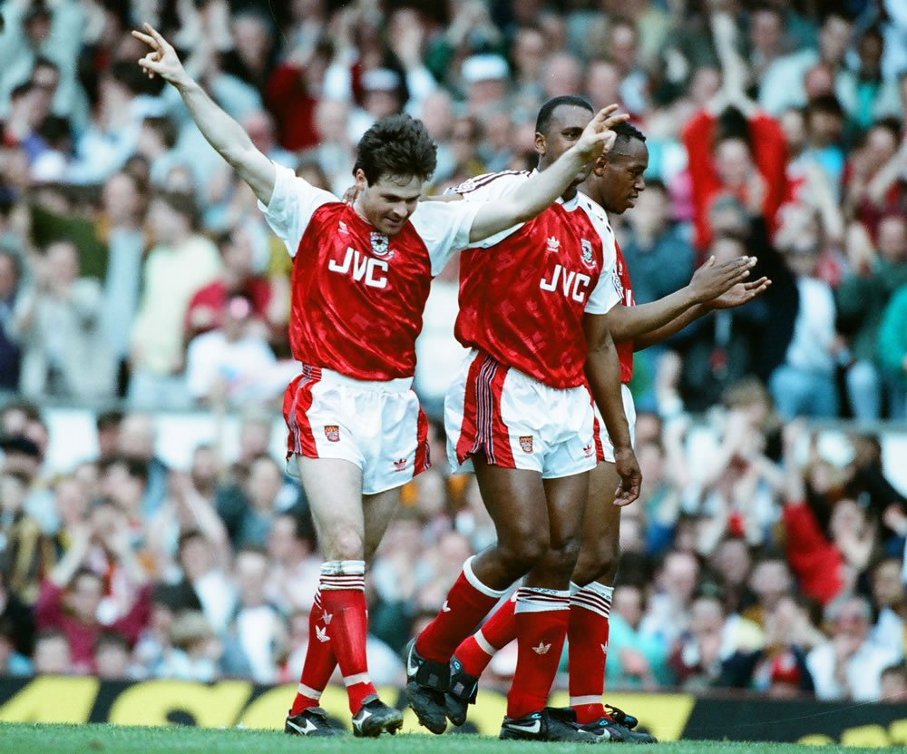 Limpar, Rocastle and Wright #Arsenal <br>http://pic.twitter.com/FmsH0H2EM3
